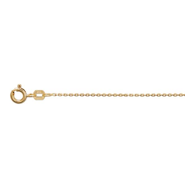 Halskette 333 Gold ca. 0,8 mm stark Ankerglieder