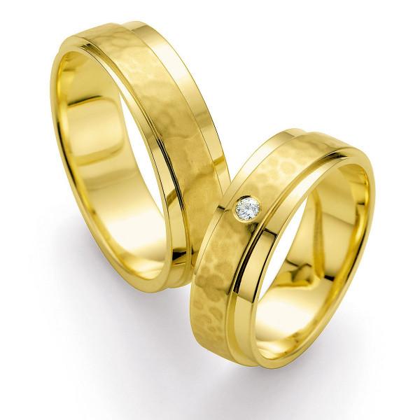 Trauringe 585 Gelbgold Eheringe Hochzeitsringe