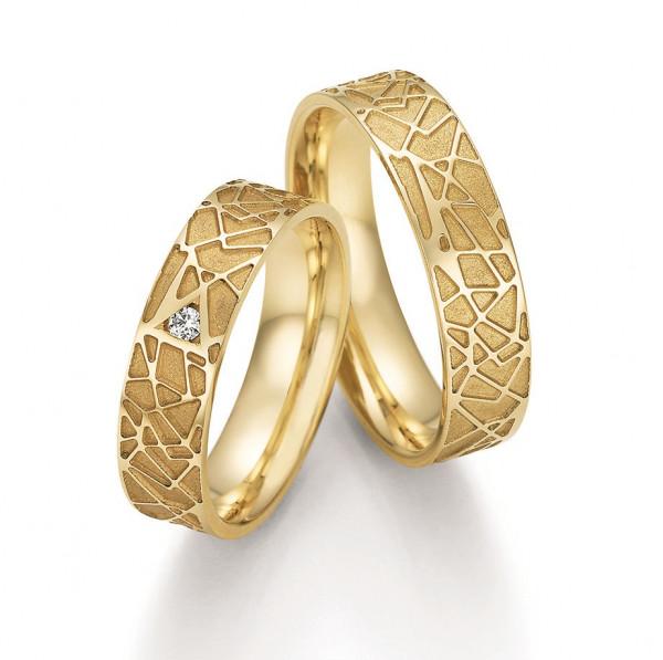 Trauringe 333 Gelbgold Eheringe Hochzeitsringe
