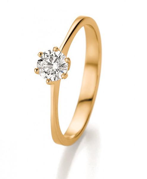 Verlobungsring 585 Gelbgold 0,50 ct. Brillant