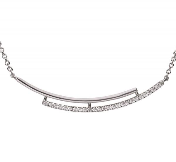 Halskette von Diamonfire zwei verbundene Bügel