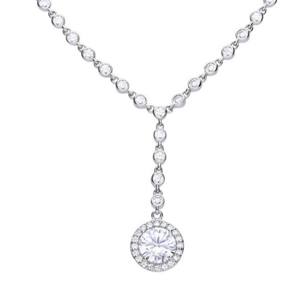Halskette von Diamonfire Kettenglieder aus Zirkonia