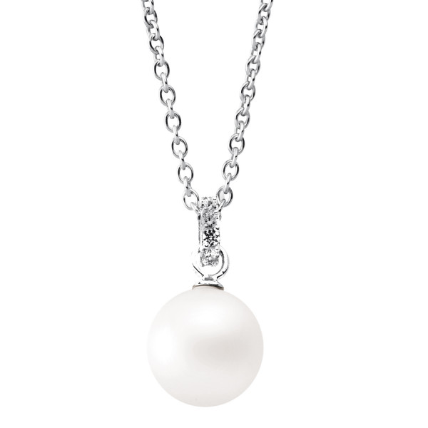 Silver Trends Perle Fashion Pearl incl. Halskette SIlber - ST1039