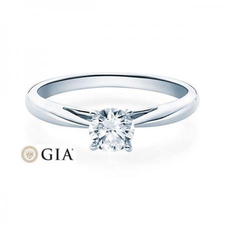 Verlobungsring Emilia 950 Platin ges. 0,5 ct. Brillanten