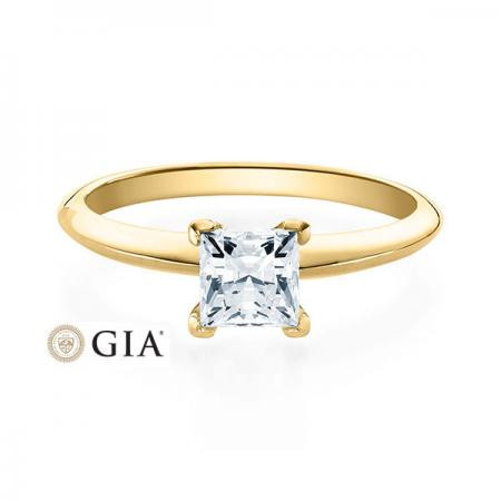 Verlobungsring Glenn 585 Gelbgold ges. 0,5 ct. Brillanten