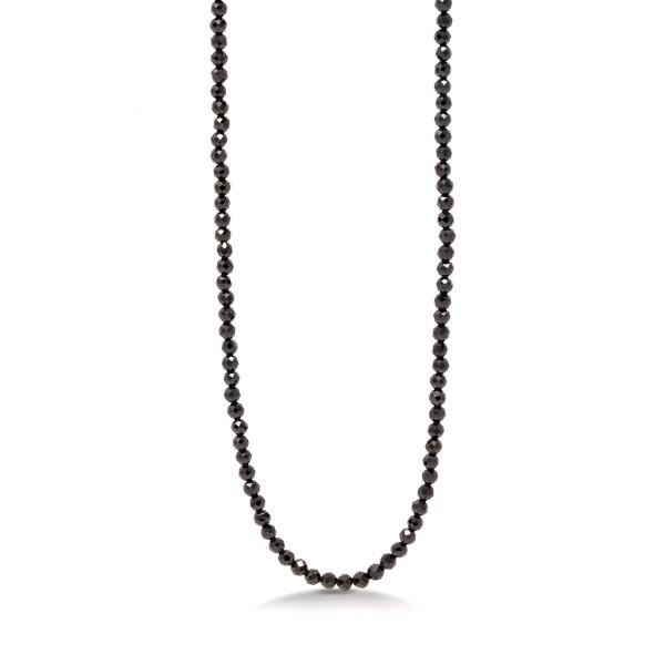 Halskette Spinell schwarz Monessa