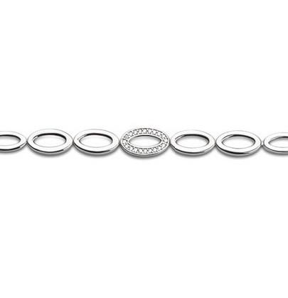 Armband Armkette Damen Silber mit Zirkonia Timeless - ST1678 - von Nana Kay