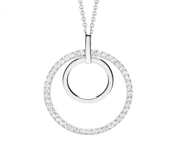 Silver Trends Anhaenger Modern Simplicity mit Halskette - ST847