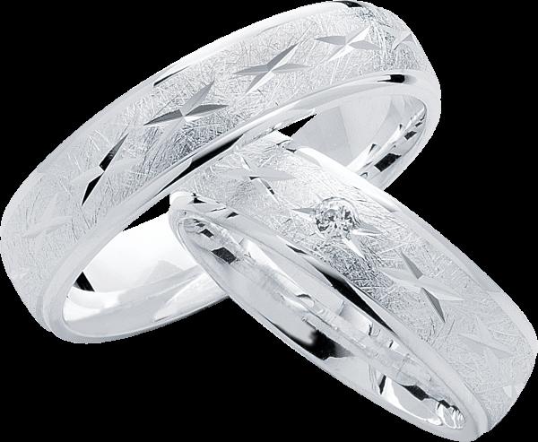 Freundschaftsringe 925 Silber mit Zirkonia S17