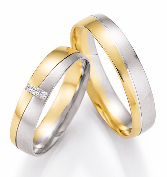 Trauringe 585 Gelbgold 950 Palladium Eheringe Hochzeitsringe