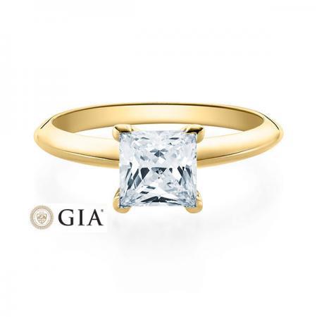 Verlobungsring Glenn 585 Gelbgold ges. 1 ct. Brillante