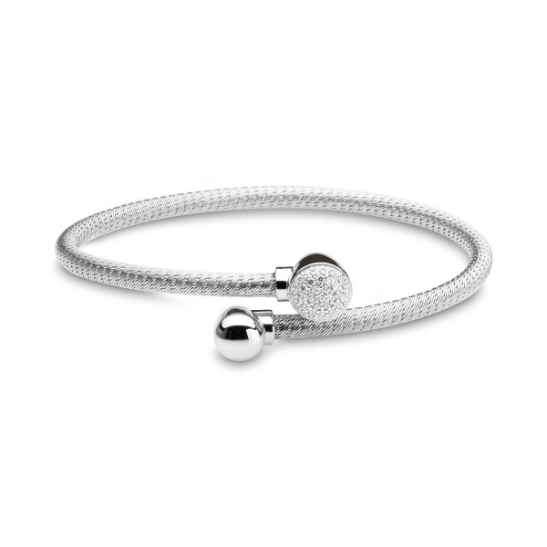 Armkette Schlangenband Shiny Bubbles Silber Silver Trends