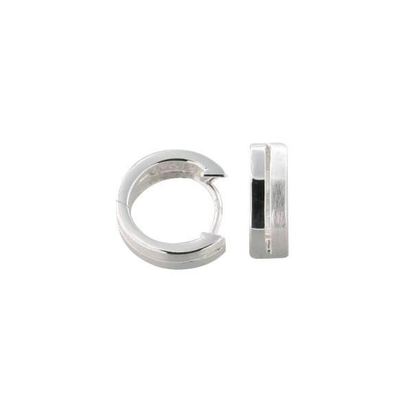 Ohrringe 925 Silber rhodiniert, 20.1017.R