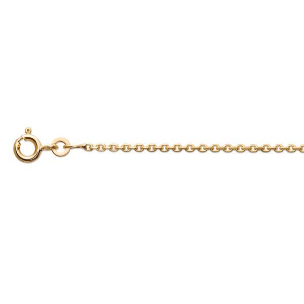 Kinder Halskette 333 Gold ca. 1,5 mm stark Ankerglieder