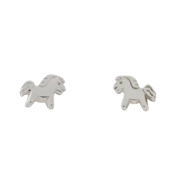 Kinder Ohrstecker 925 Silber Ponys