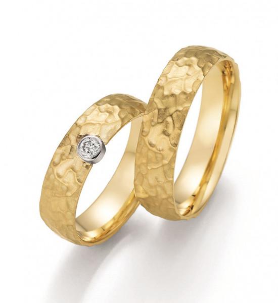 Trauringe 750 Gelbgold Eheringe Hochzeitsringe