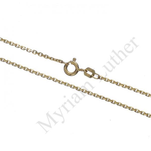 Ankerkette 333 Gold ca. 1,5 mm stark