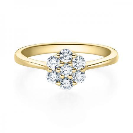 Verlobungsring Hazel 750 Gelbgold ges. 0,4 ct. Brillanten