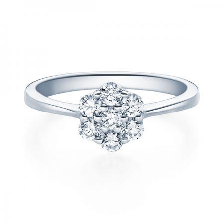 Verlobungsring Hazel 950 Platin ges. 0,4 ct. Brillanten