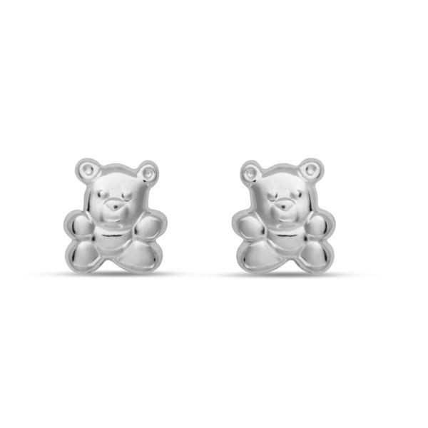 Kinder Ohrstecker 925 Silber Teddy Bär