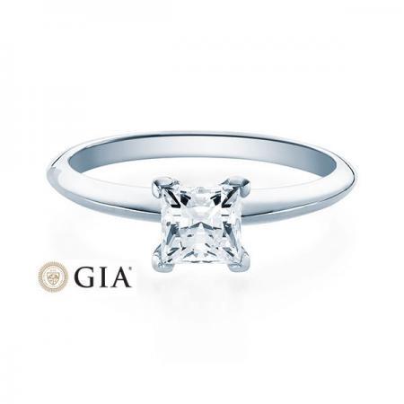 Verlobungsring Glenn 585 Weissgold ges. 0,5 ct. Brillanten