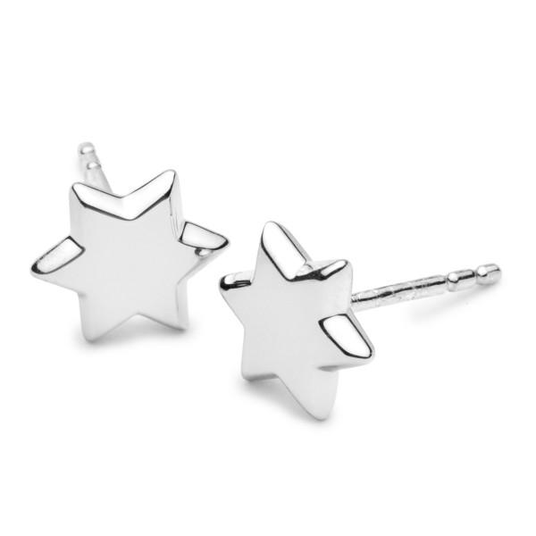 Ohrstecker 925 Silber Stern - Silver Trends