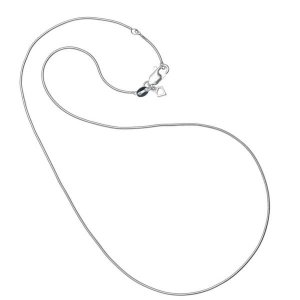 Schlangenkette 925 Silber ca. 1,0 mm stark
