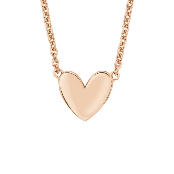 Halskette Motiv Herz rosegold vergoldet von s.Oliver
