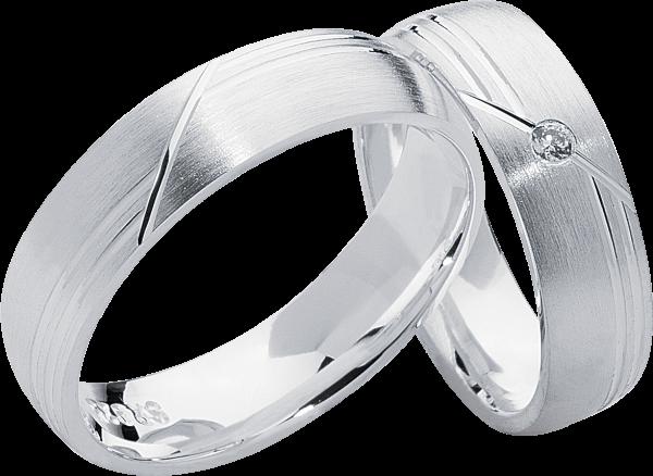 Freundschaftsringe 925 Silber mit Zirkonia S12