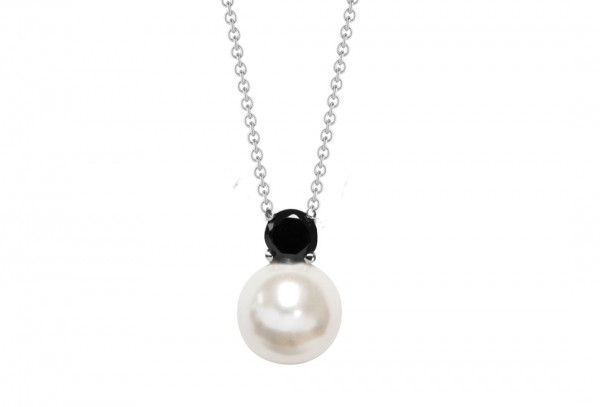 Silver Trends Perle Fashion Pearl incl. Halskette SIlber - ST694