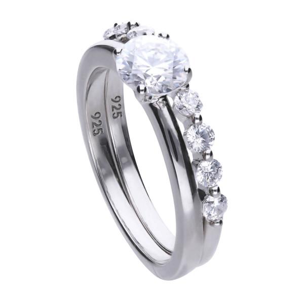 Ring Set Silber Diamonfire CLASSICS