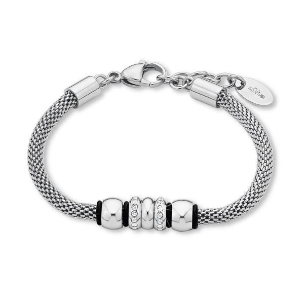 Armband Armkette Edelstahl Swarovski Kristalle s.Oliver