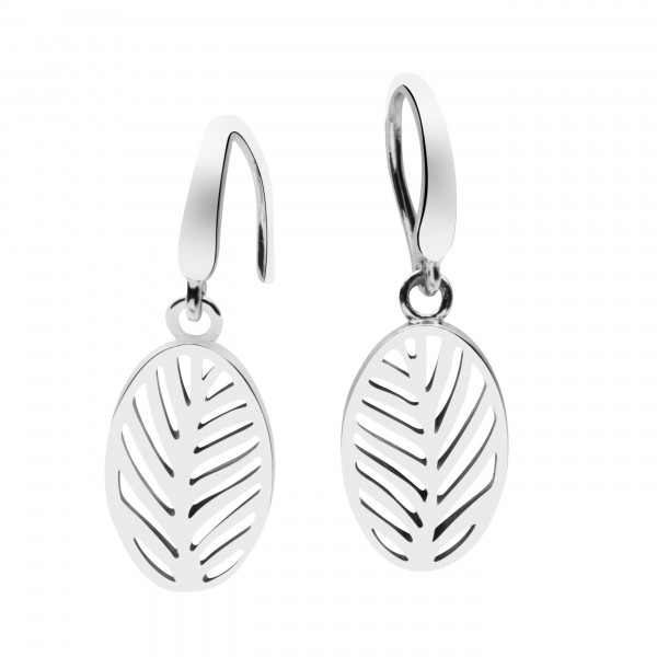 Ohrringe Palmenblätter aus Silber - Silver Trends