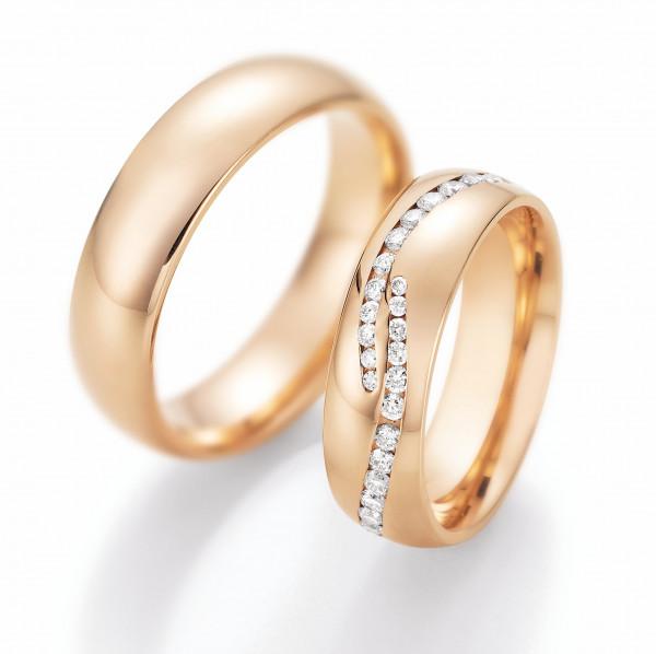 Trauringe 585 Rotgold Eheringe Hochzeitsringe