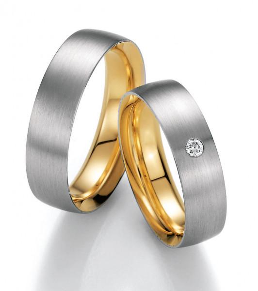 Trauringe 750 Gelbgold 950 Palladium Eheringe Hochzeitsringe