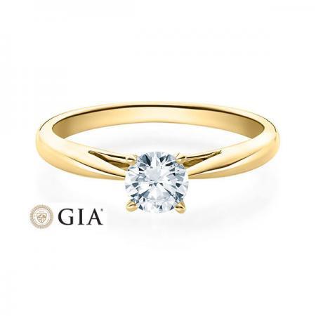 Verlobungsring Emilia 585 Gelbgold ges. 0,5 ct. Brillanten