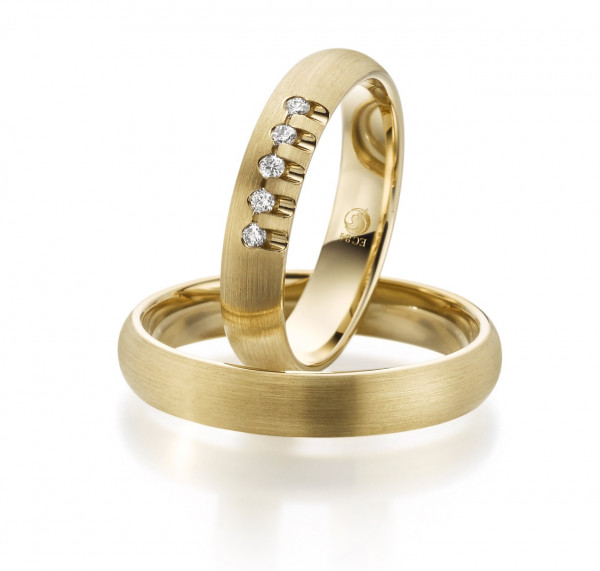 Trauringe 585 Gold Eheringe Hochzeitsringe