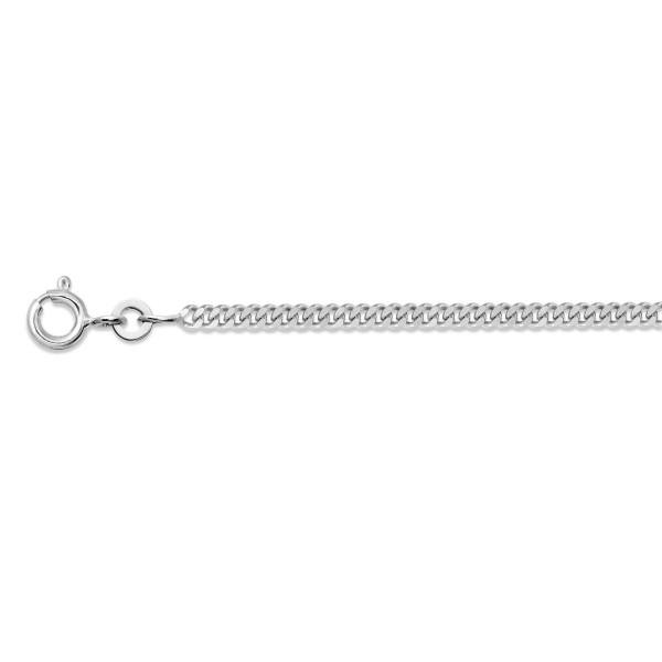 Halskette 925 Silber ca.1,3 mm stark Panzerkette