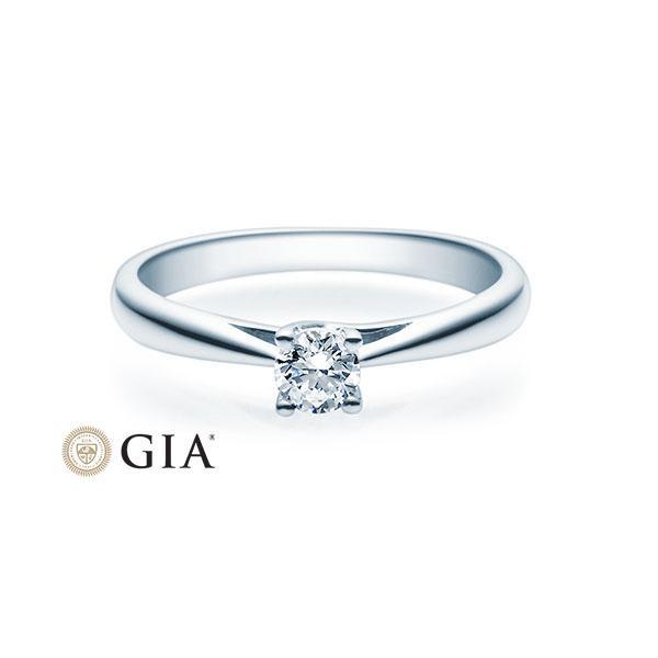 Verlobungsring 585 Weißgold 0,10 ct. Brillant