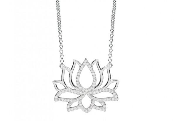 Silver Trends Anhaenger True Happiness mit Halskette - ST1415