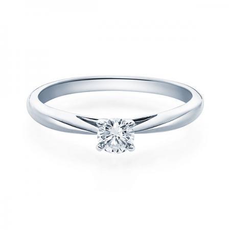 Verlobungsring Emilia 585 Weissgold ges. 0,25 ct. Brillanten