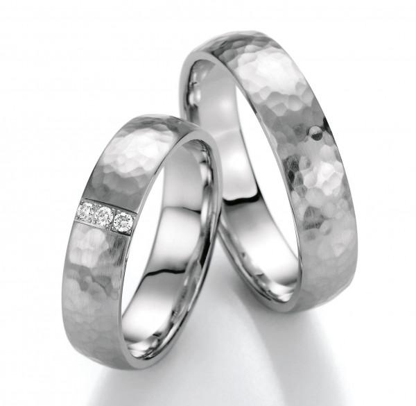 Trauringe 585 Weissgold Eheringe Hochzeitsringe
