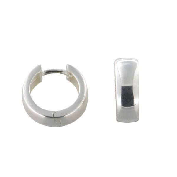 Ohrringe 925 Silber rhodiniert